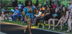 Students strut stuff in first fashion show