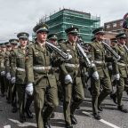 Easter Rising remembered in Dublin, Ireland